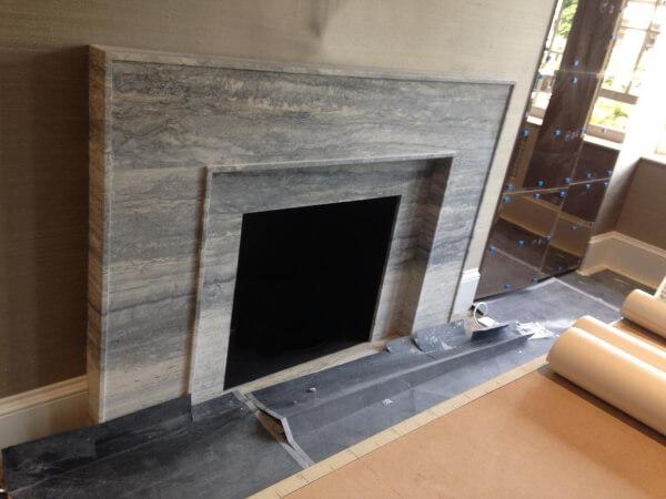 stone fireplace kensington