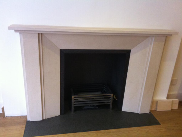 limestone fireplace notting hill